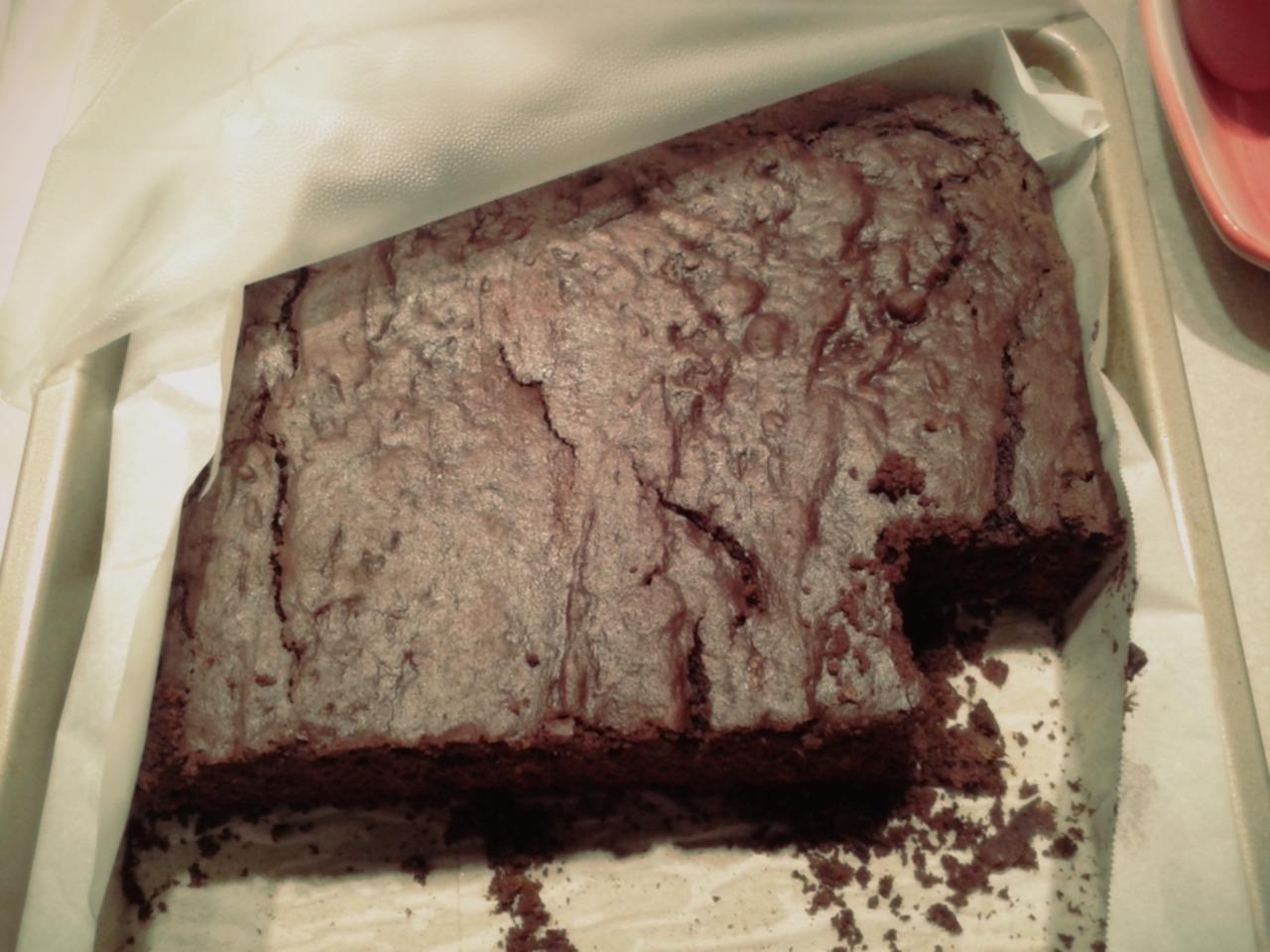 Gâteau entamé! :)