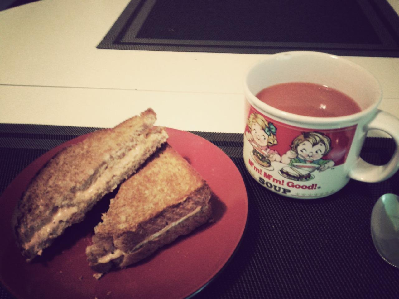 Avouez que vous êtes jaloux de ma belle tasse Campbell ;)