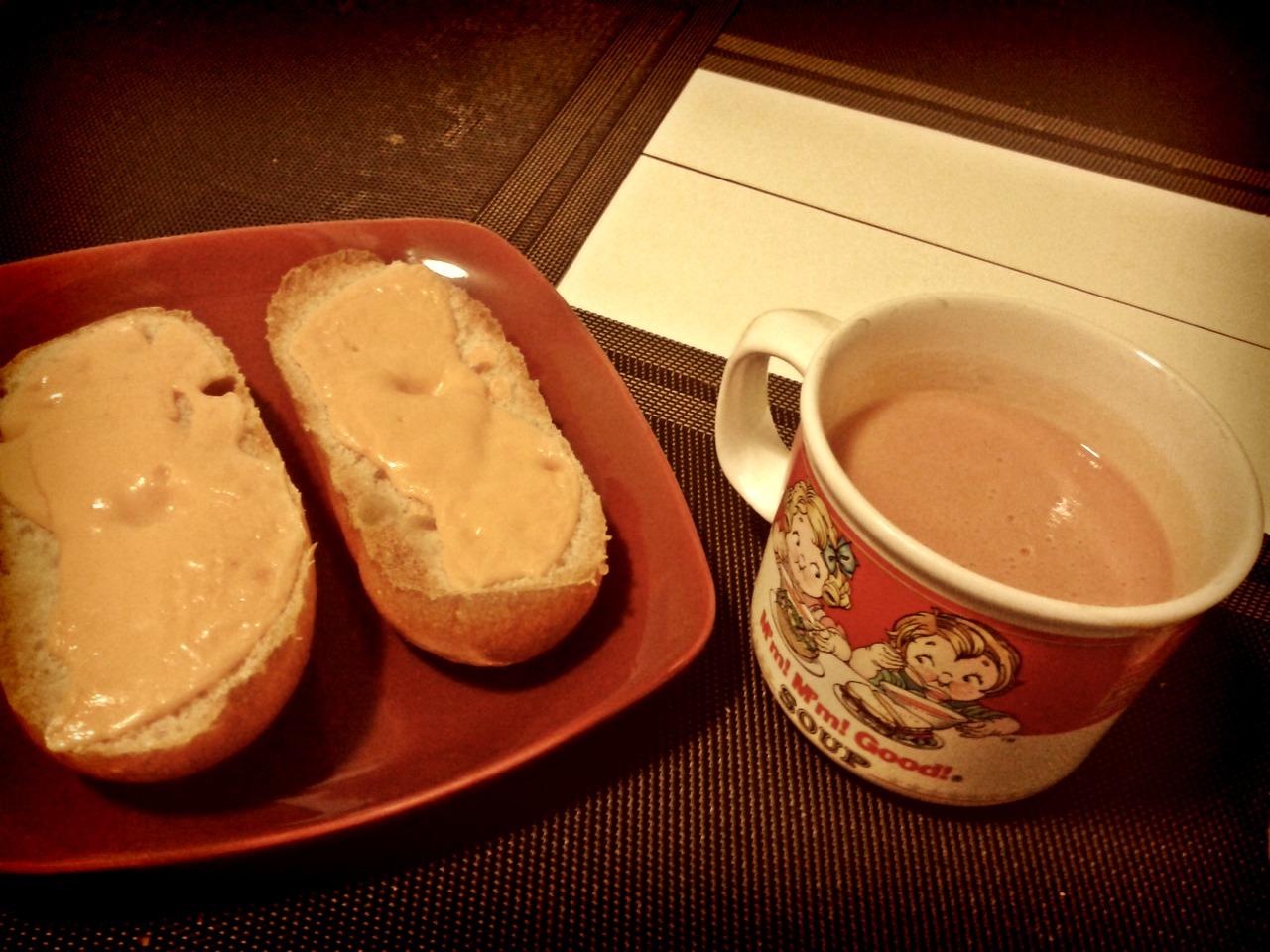 Un souper d'étudiant. ;)