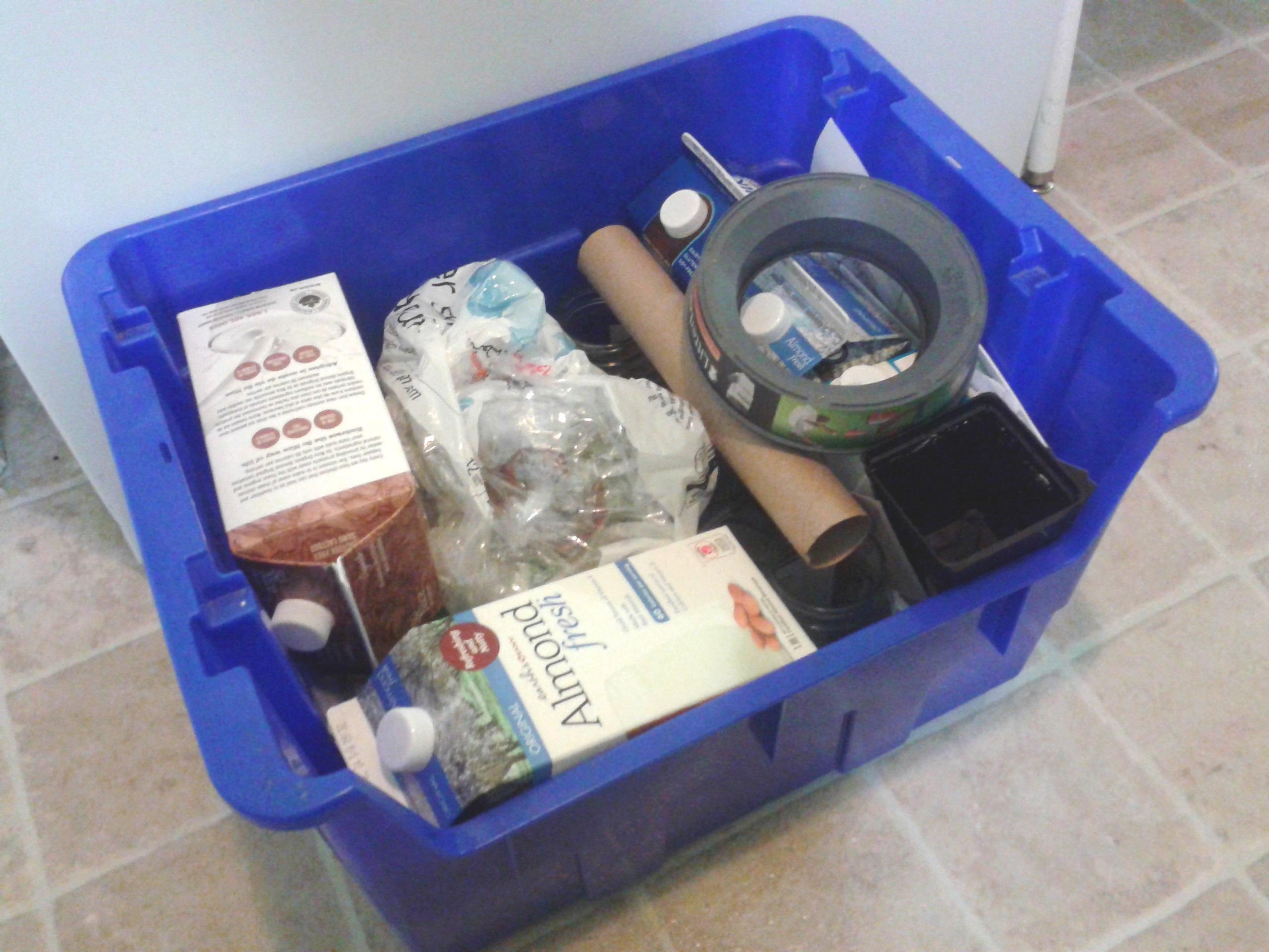 1½ mois de recyclage!