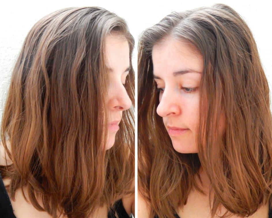 C'est juste moi ou mes cheveux semblent être en plastique?