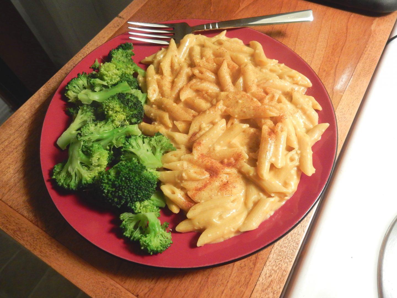 Mac n cheese végétalien