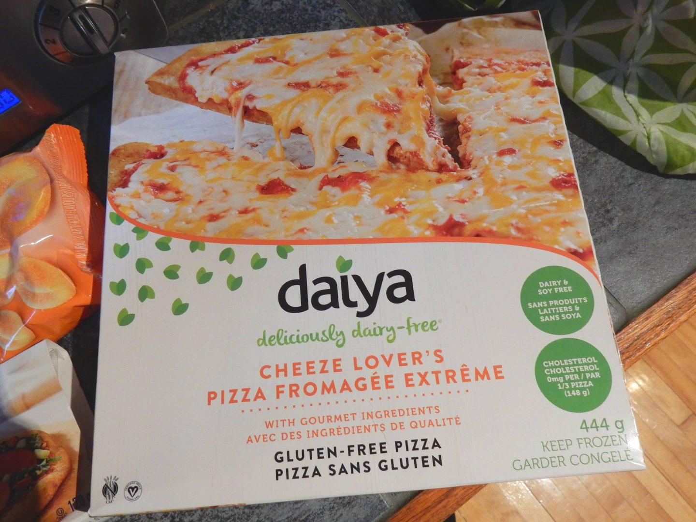 Pizza fromagée extrême de Daiya