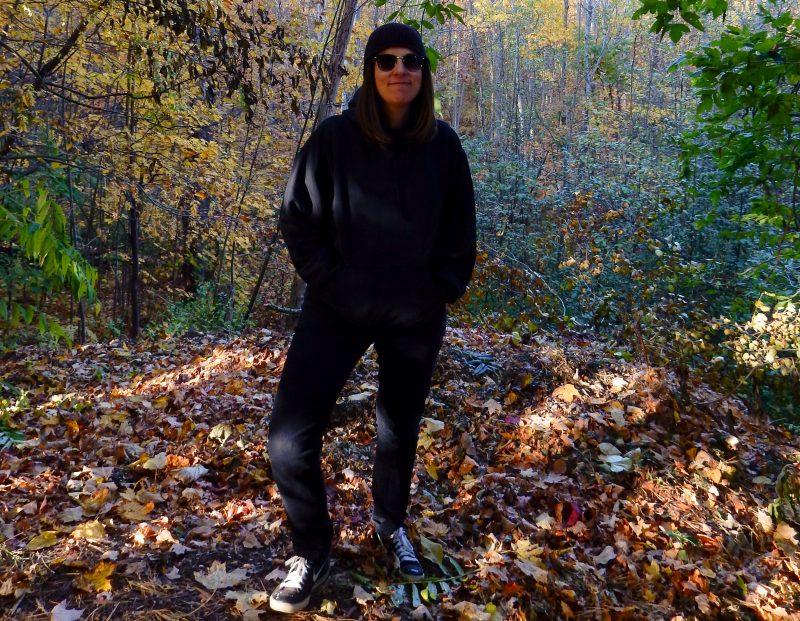 Moi dans le « bois ».