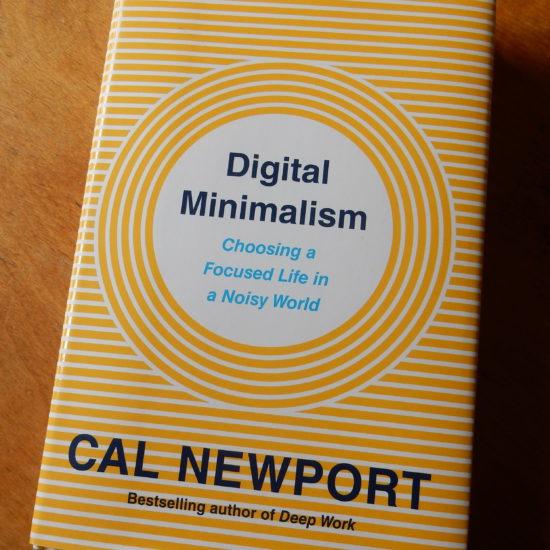 Livre : Digital Minimalism de Cal Newport