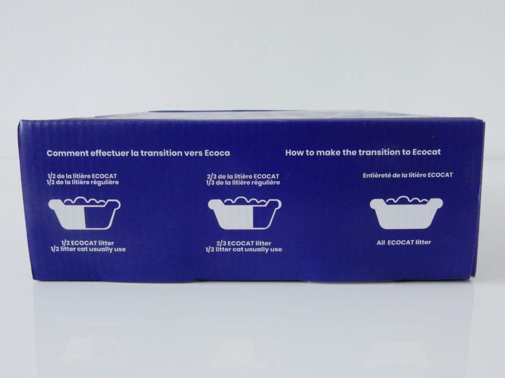 Instructions pour la transition de litière